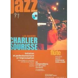 Charlier, André: Jazz (+CD) : pour flute (en/frz/dt/sp)