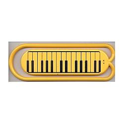 Riesen-Büroklammer 13 cm Kunststoff Tastatur (1 Stück)