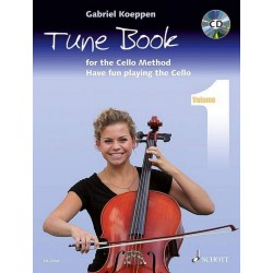 Cello Method - Tune Book 1 (+CD) : for 1-3 cellos (piano ad lib) (en) 2 scores