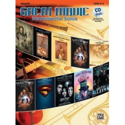 Great Movie Instrumental Solos (+CD) : for trumpet