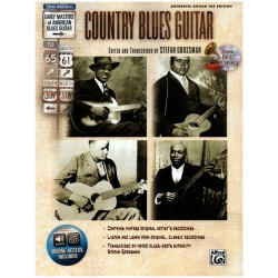 Country Blues Guitar (+CD) : for guitar/tab