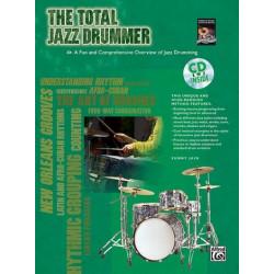 Jain, Sunny: The total Jazz Drummer (+CD)