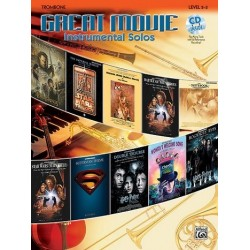 Great Movie Instrumental Solos (+CD) : for trombone