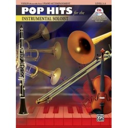 Pop Hits (+CD) : for violin and piano