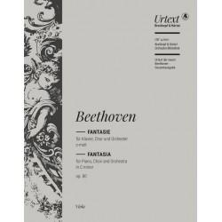 Beethoven, Ludwig van: Fantasie c-Moll op.80 : für Klavier, Soli, Chor und Orchester Viola