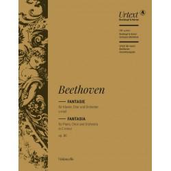 Beethoven, Ludwig van: Fantasie c-Moll op.80 : für Klavier, Soli, Chor und Orchester Violoncello