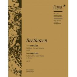 Beethoven, Ludwig van: Fantasie c-Moll op.80 : für Klavier, Soli, Chor und Orchester Kontrabaß