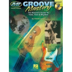 James, Oneida: Groove Mastery (+CD) : for bass