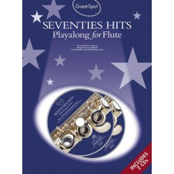 Seventies Hits (+2 CD's) . for flute Guest Spot Playalong