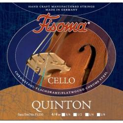 Fisoma Quinton Cellosaite D 4/4 (Chrom) - mittel
