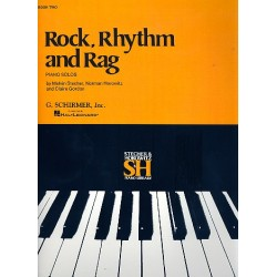 Rock, Rhythm and Rag vol.2 : for piano