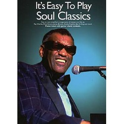It's easy to play Soul Classics : for piano (vocal/guitar)
