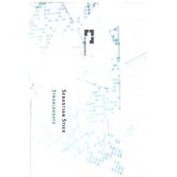 Stier, Sebastian: Strahlensatz für 12 Streicher Partitur