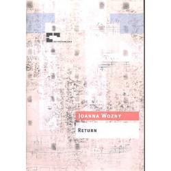 Wozny, Joanna: Return für Tenorsaxophon und Orchester Partitur
