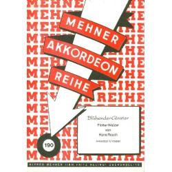 Rauch, Hans: Blühender Ginster: für Akkordeonorchester Partitur