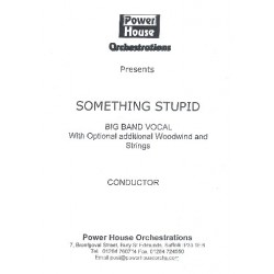 Williams, Robbie (Robert Peter): Somethin' stupid : for 2 voices and big band (woodwind and strings ad lib) score and parts