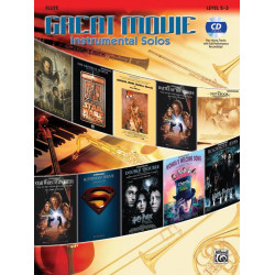 Great Movie Instrumental Solos (+CD): für Flöte