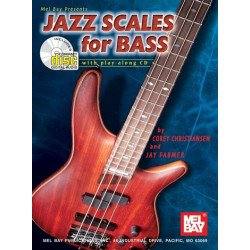 Christiansen, Corey: Jazz Scales (+CD) : for bass guitar