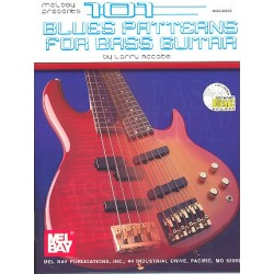 McCabe, Larry: 101 Blues Patterns (+CD) : for bass guitar