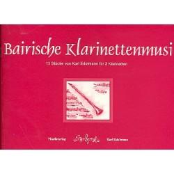 Edelmann, Karl: Bairische Klarinettenmusi : für 2 Klarinetten Spielpartitur