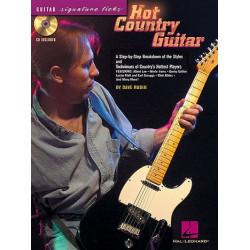 Rubin, Dave: Hot Country (+CD): for guitar/tab Guitar Signature Licks
