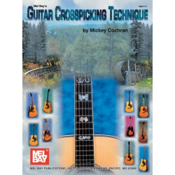 Cochran, Mickey: Guitar Crosspicking Technique