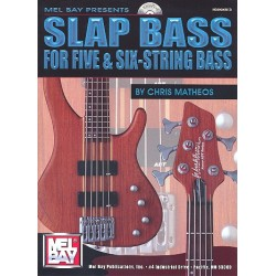 Matheos, Chris: Slap Bass (+CD) : for 5- and 6-String Bass