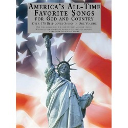 America's All-Time favorite Songs for God and Country : songbook piano (vocal/guitar)