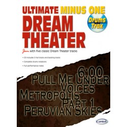 Dream Theater (+CD) : for drums Ultimate Minus One Drums Trax
