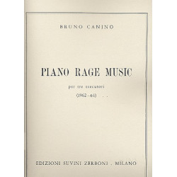 Canino, Bruno: Piano Rage Music : für Klavier zu 6 Händen Spielpartitur