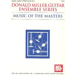Music of the Masters : for 3-4 guitars, piano ad lib score and parts