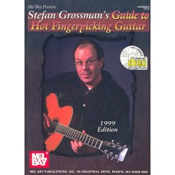 Grossman, Stefan: Guide to Hot Fingerpicking Guitar (+CD) : for guitar/tab