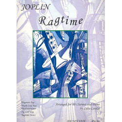 Joplin, Scott: Ragtime : for clarinet and piano