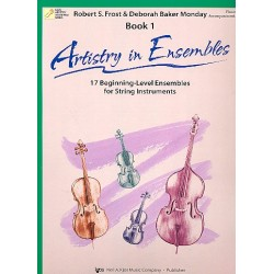 Artistry in Ensembles vol.1 : for string ensemble piano accompaniment
