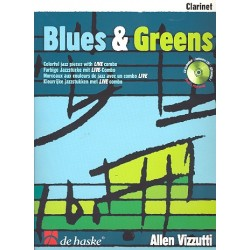 Vizzutti, Allan: Blues & Greens (+CD) : f├╝r Klarinette