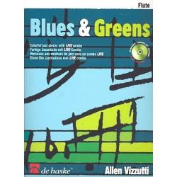 Vizzutti, Allan: Blues & Greens (+CD) : f├╝r Fl├Âte