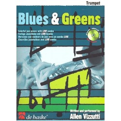 Vizzutti, Allan: Blues and Greens (+CD) : für Trompete
