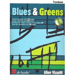 Vizzutti, Allan: Blues and Greens (+CD) : für Posaune