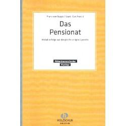Supp├®, Franz von: Das Pensionat : f├╝r Akkordeonorchester Partitur