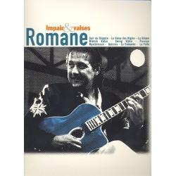 Romane: Impair et valses : pour guitar/tab