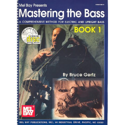 Gertz, Bruce: Mastering the Bass vol.1 (+ 2 CD's)