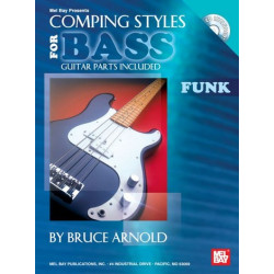 Arnold, Bruce: Funk - Comping Styles (+CD) : for bass guitar parts included