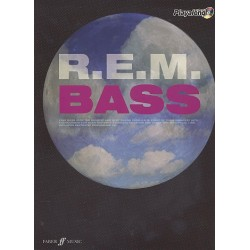 R.E.M. (+CD) : Authentic Bass Playalong songbook vocal/bass/tab