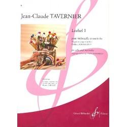 Tavernier, Jean-Claude: Lorhel no.1 : pour violoncelle et marimba parties