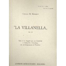 Marangoni, Giuseppe Maria: La Villanella op.42 : Suite la maggiore per 2 contrabassi e pianoforte
