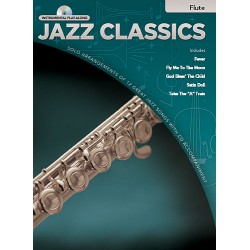 Jazz Classics (+CD) : for flute