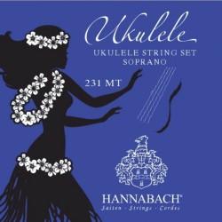 Hannabach 232 MT Saiten für Ukulele (C-Stimmung) Satz