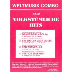 Volkstümliche Hits Band 67 : für Combo (Oberkrainer Besetzung) Direktion und Stimmen
