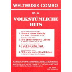 Volkstümliche Hits Band 64 : für Combo (Oberkrainer Besetzung) Direktion und Stimmen