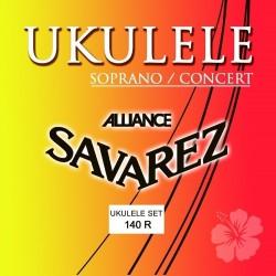 Savarez Saiten für Ukulele Sopran/Concert Satz